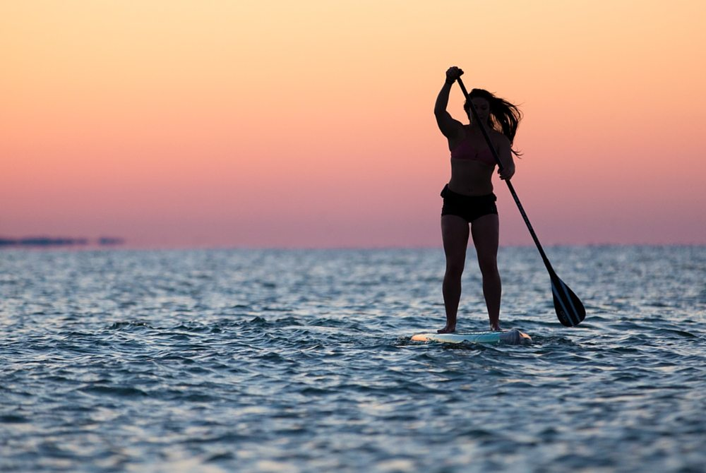 Stand-Up Paddleboarding in South Walton - 30A
