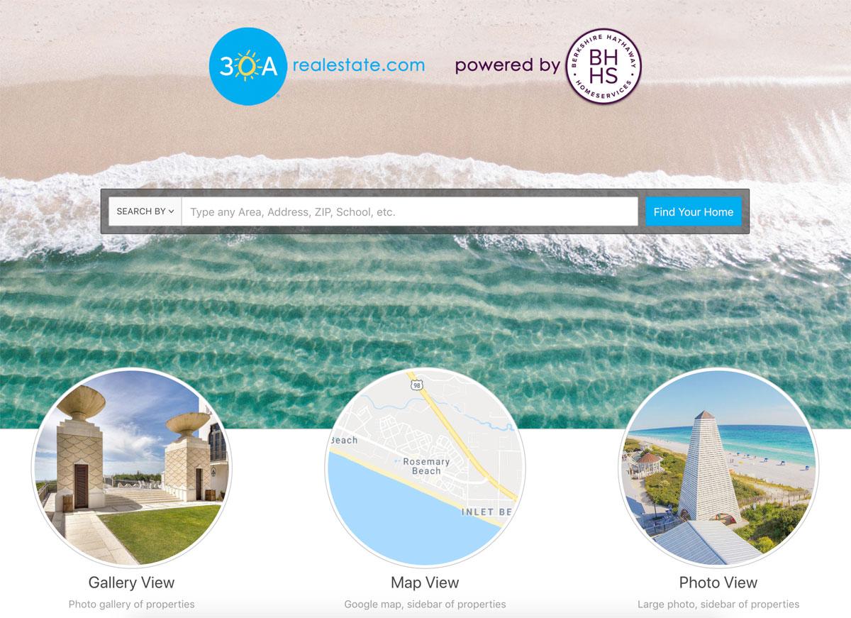 Blue Mountain Beach Florida Map.30a 1 Guide To Seaside Fl Rosemary Beach Grayton Seagrove