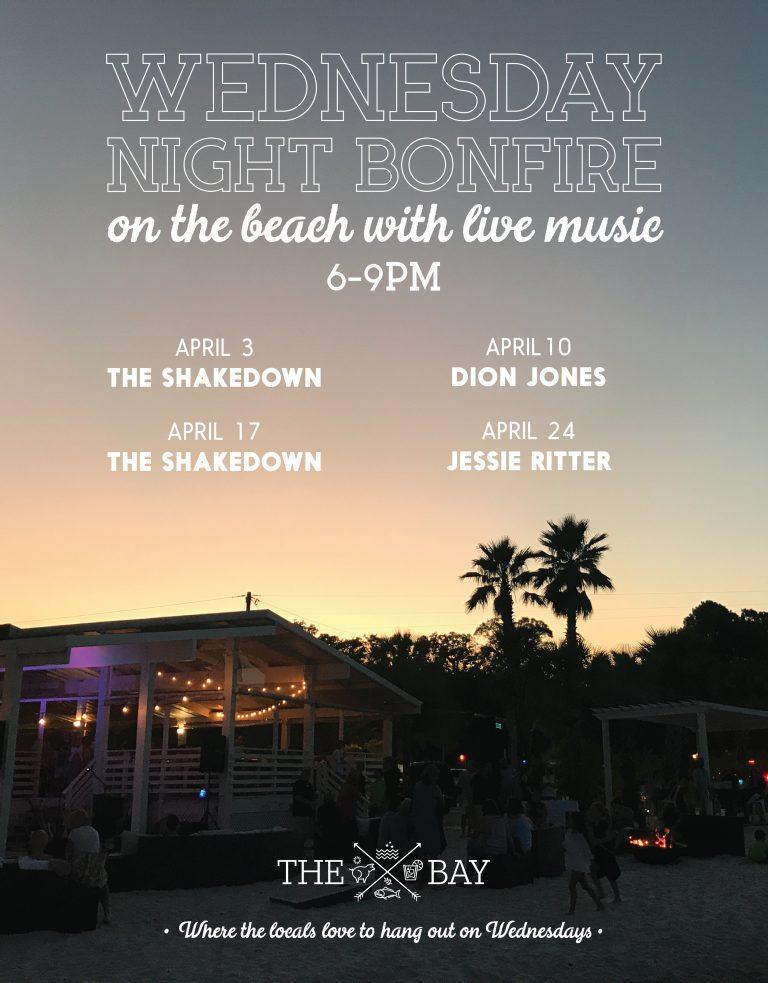 Wednesday Night Bonfire ontheBeach w/ Jessie Ritter