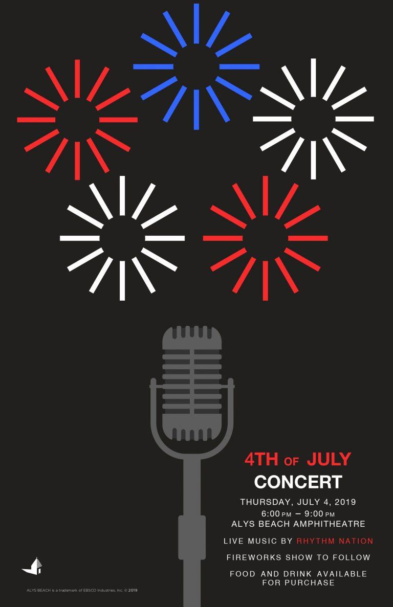 4thof July Concert w/ Rhythm Nation