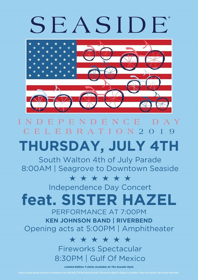 South Walton Independence Day Parade & All-day Celebrations