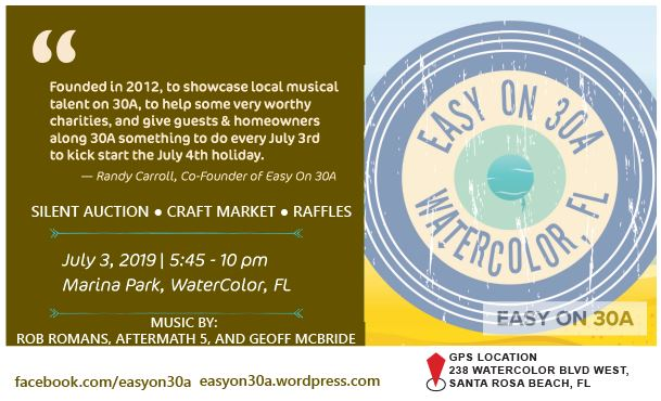 8th Annual Easy on 30A Concert