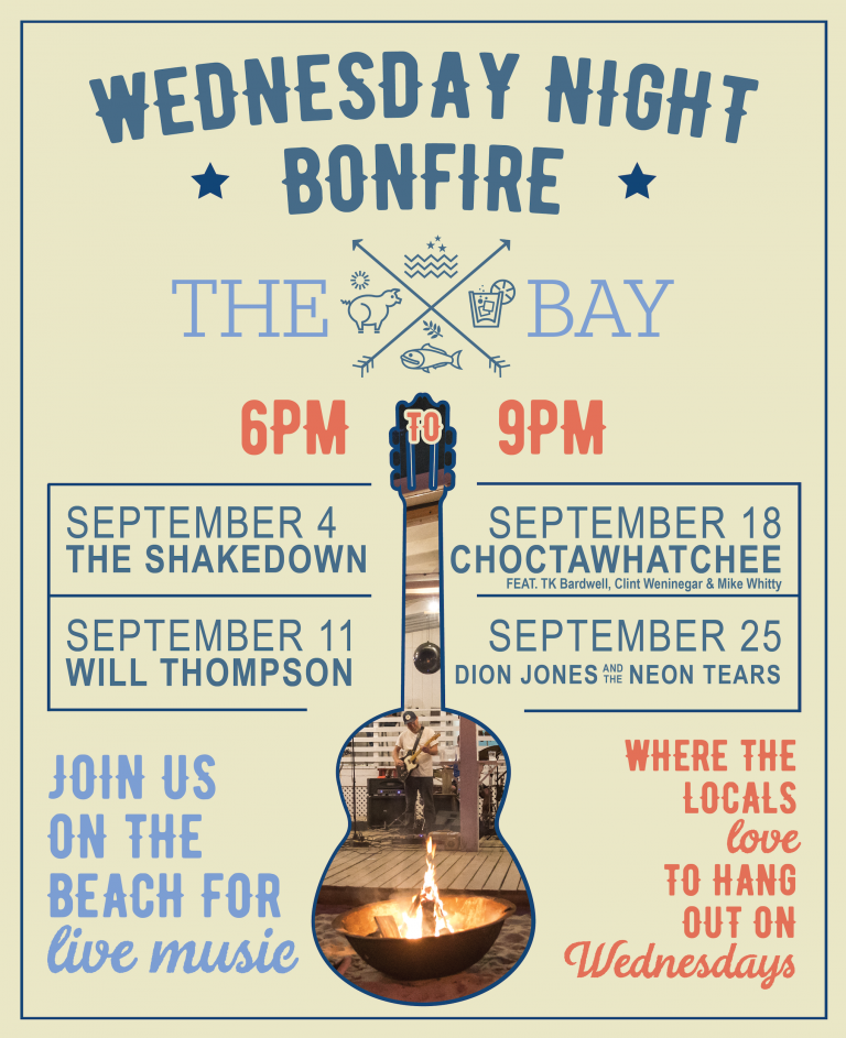 Bonfire on the Beach w/ Dion Jones & the Neon Tears