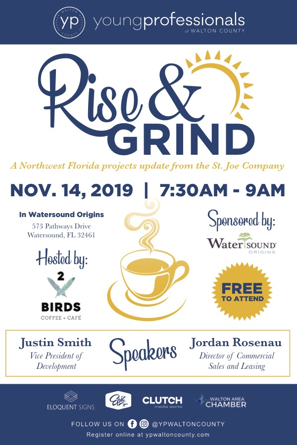 Young Professionals of Walton County: Rise & Grind