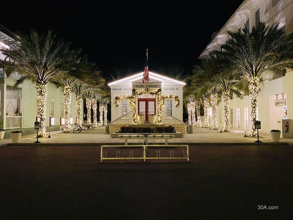 Seaside, Florida Christmas Lights