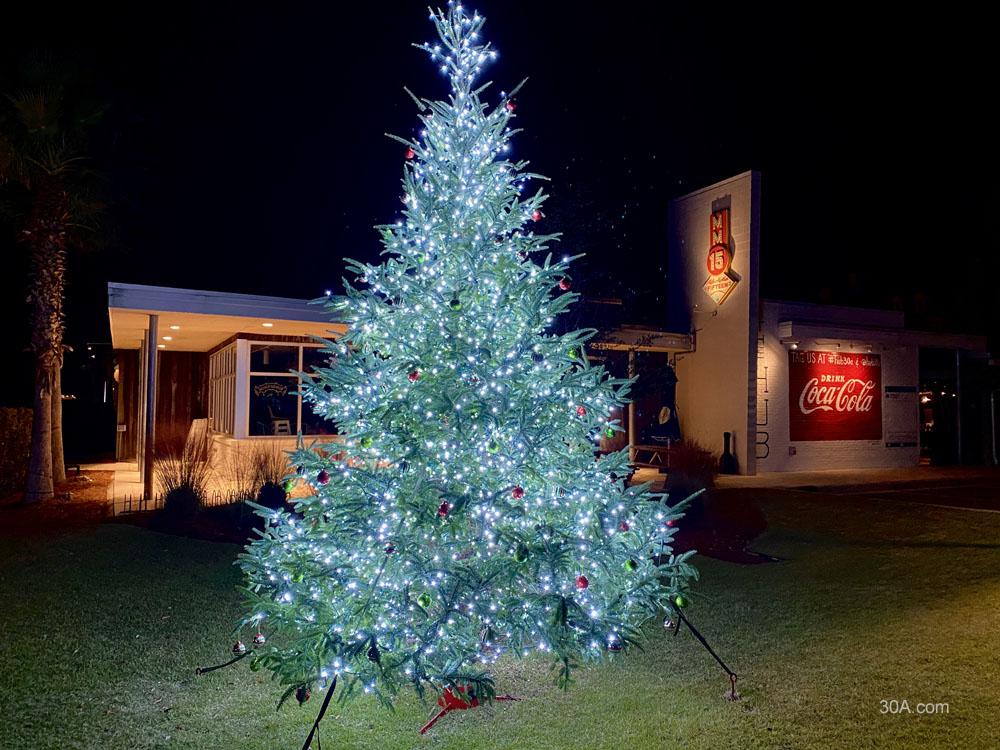 The Hub on 30A at Christmas