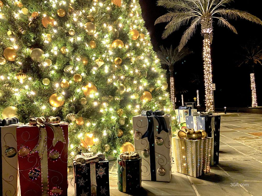 Alys Beach, Florida, Christmas Lights, Holiday Decorations