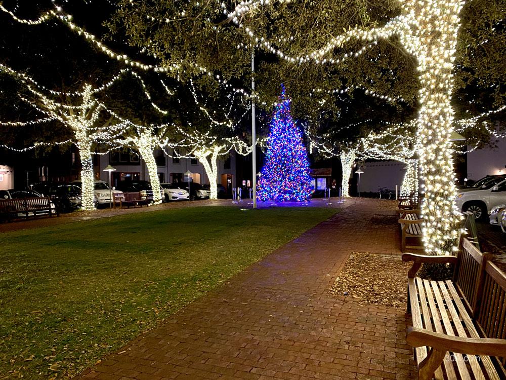 Rosemary Beach, Florida, Christmas Decorations