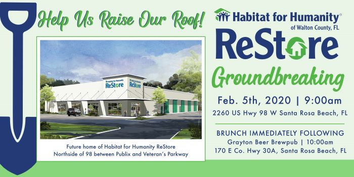 Habitat for Humanity Restore Ground Breaking Ceremony & Brunch