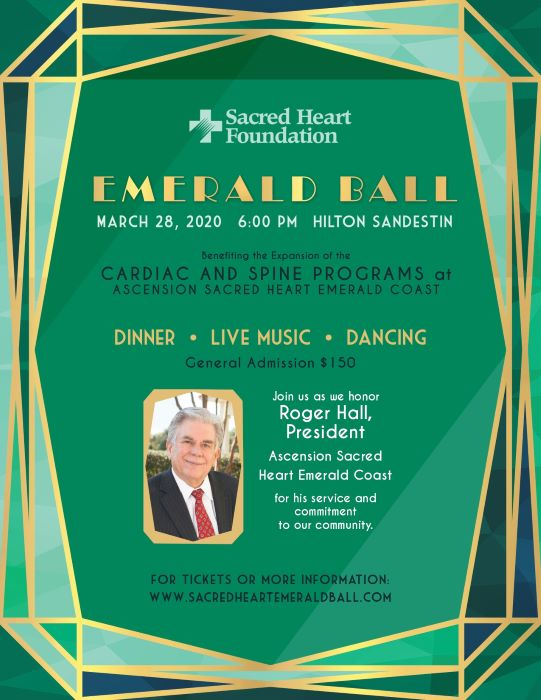 The Emerald Ball hosted by Sacred Heart Foundation