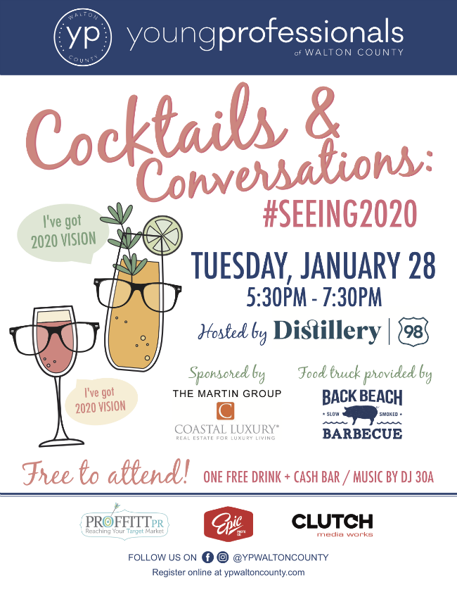 Cocktails & Conversations: #Seeing2020
