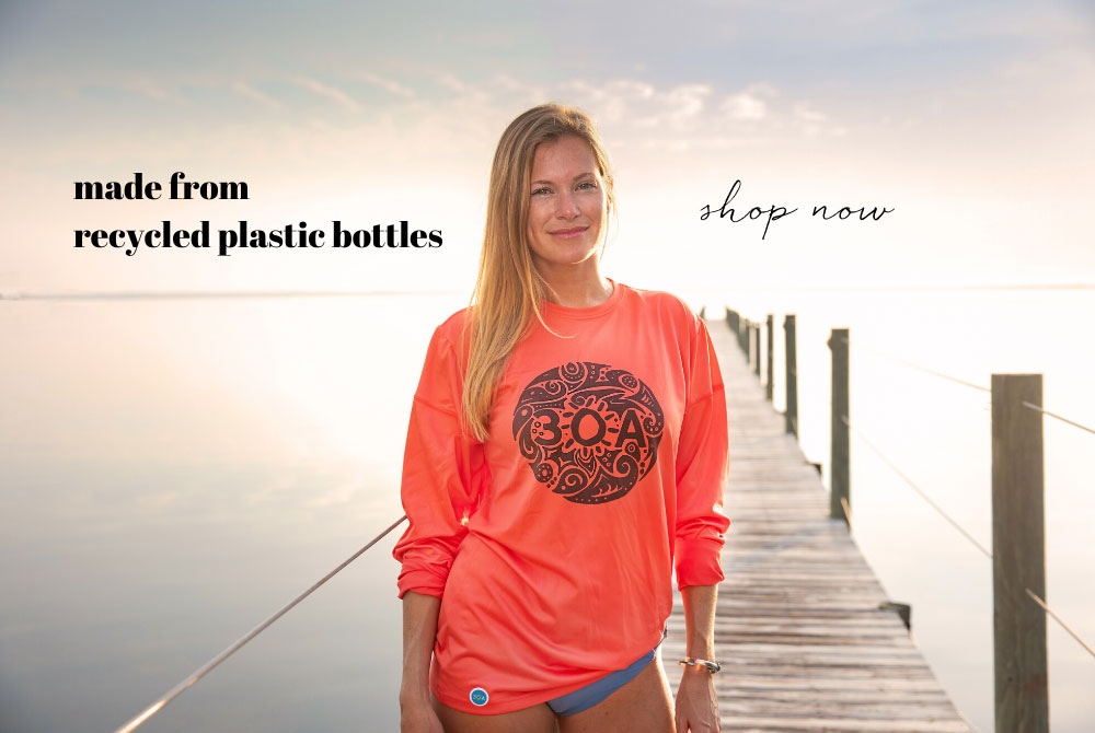 30A Shirts Made from Recycled Plastic Bottles