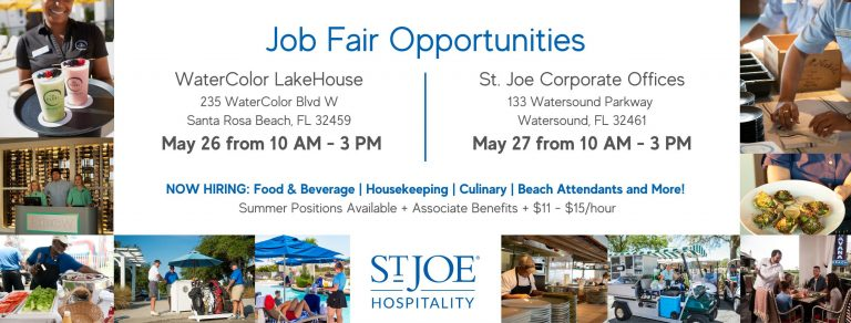 Job Fair: St. Joe Hospitality