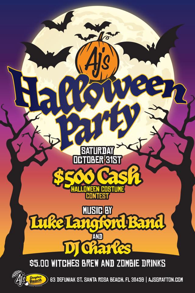 Halloween Party w/ Luke Langford & DJ Charles