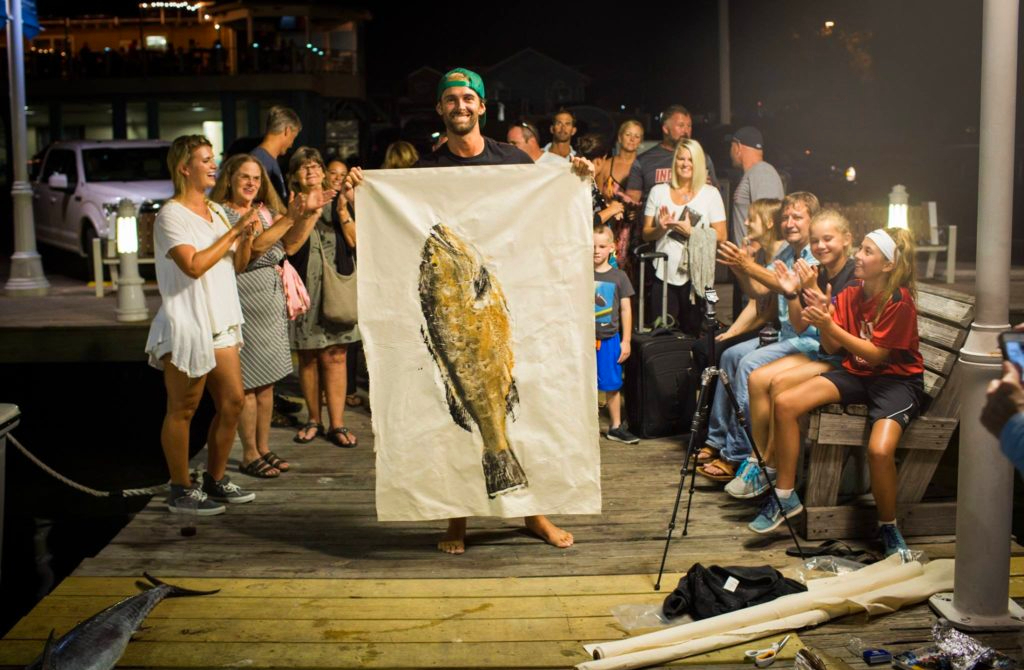 Gnarly Prints: When Fish Become Art