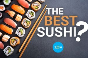 Best Sushi Places Near 30A, Florida