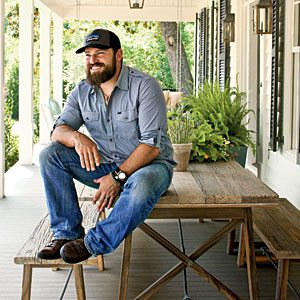 Zac Brown rests on a 'Made on 30A' Design
